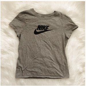 Kids athletic cut Nike T-shirt